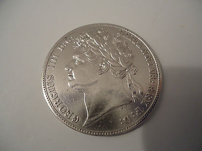 Very Nice & Scarce George IV 1824 Silver Halfcrown.