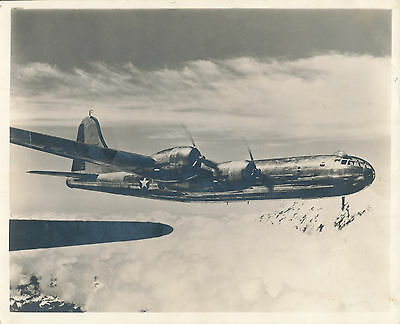 1940s US Aircraft 8x10 Photo No 2 of 4 engine airplane in flight
