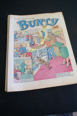 BUNTY Comic For Girls . Ideal Birthday Gift. No. 1346. October 29 1983