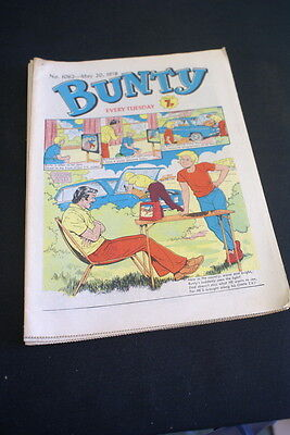 BUNTY Comic For Girls . Ideal Birthday Gift. No. 1062. May 20 1978