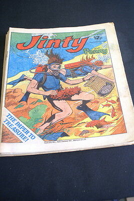 JINTY & Penny  Comic For Girls. Ideal Birthday Gift. 25th October 1980