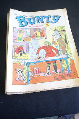 BUNTY Comic For Girls . Ideal Birthday Gift. No. 1063. May 27 1978