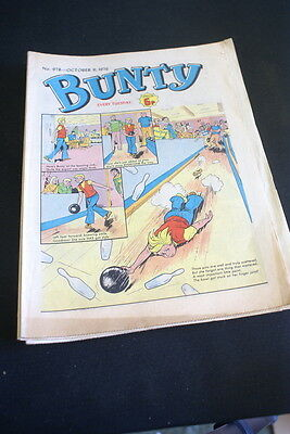 BUNTY Comic For Girls . Ideal Birthday Gift. No. 978. October 9 1976