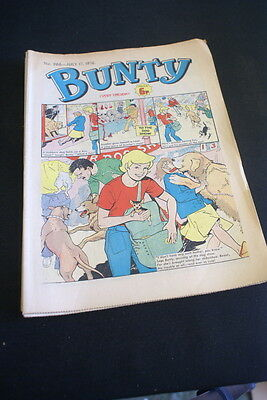 BUNTY Comic For Girls . Ideal Birthday Gift. No. 966. July 17 1976