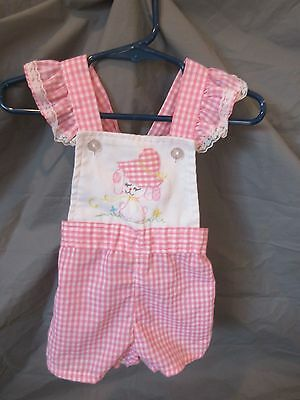 Vintage 60/70's Infant Romper Cute Togs Of New Orleans