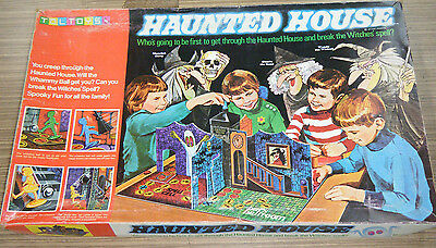 Vintage c1971 Toltoys Haunted House Board Game - Complete