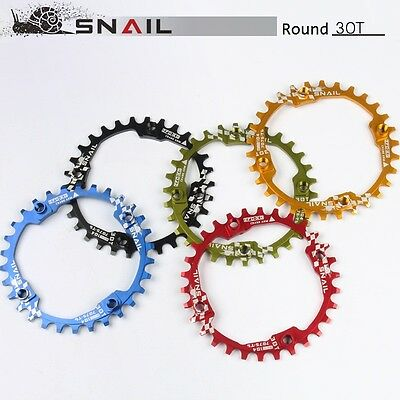 BCD 104mm MTB Road Bike Single Narrow Wide Chainring 30T round chain ring