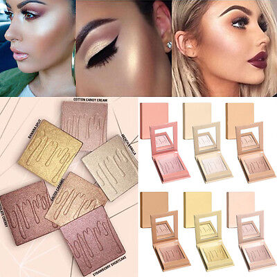 Girl 6Colors Fashion Contour Powder Highlighter Repair Light High Cosmetic Matte