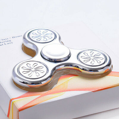 3D Fidget Hand Spinner Finger EDC Focus Stress Reliever Toys For Kids Adults