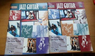 2 books THE COMPLETE JAZZ GUITAR METHOD Chord/Melody + Improvisation J. Fisher