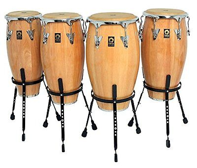 Club Salsa Professional Wooden Conga in Natural - Size Options Available