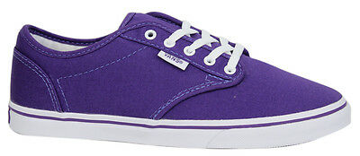 aae4f826fc Vans Atwood Low Unisex Canvas Lace Up Purple Trainers Plimsolls NJO5SY VB
