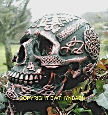 New Rubber Latex Mould Mould Mold Gothic Celtic Skull Halloween