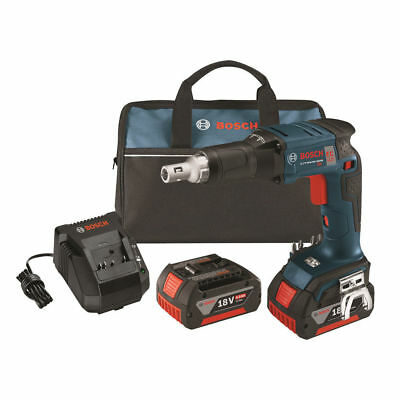 Bosch 18V Li-Ion BL 4.0 Ah FatPack Drywall Screwgun Kit SGH182-01-RT Recondition