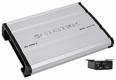 Autotek SS3500.2 Super Sport 3500w 2-Channel Car Audio Amplifier Class A/B Amp