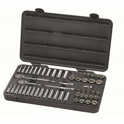 """GearWrench 57pc 3/8"""" SAE/Metric Socket Set 80550F New"""