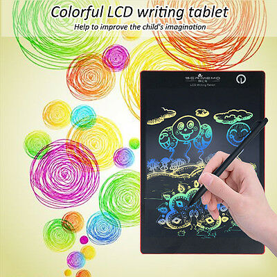 """9.7"""" Colorful LCD Writing Tablet Pad For Boogie Board Jot Style eWriter Boards"""