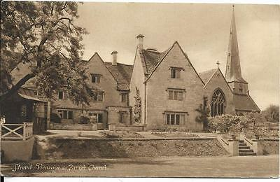 Stroud - Vicarage And Parish Church - Gloucestershire - Postcard