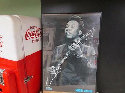 """Muddy Waters """"the Blues"""" Poster 24"""" X 34"""""""