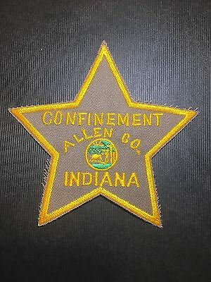 Confinement Allen County Indiana  Shoulder Patch