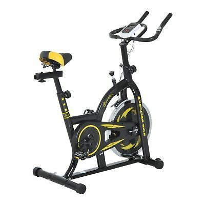 Exercise Bike Magnetic Trainer Indoor Cycling Cardio Workout Home Gym w/LCD
