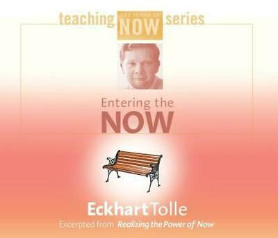 Entering the Now by Eckhart Tolle (English) Compact Disc Book Free Shipping!