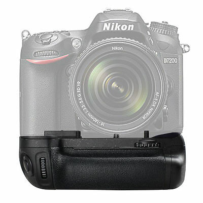 Vertical Battery Grip for Nikon D7100 D7200 SLR Camera as MB-D15 EN-EL15
