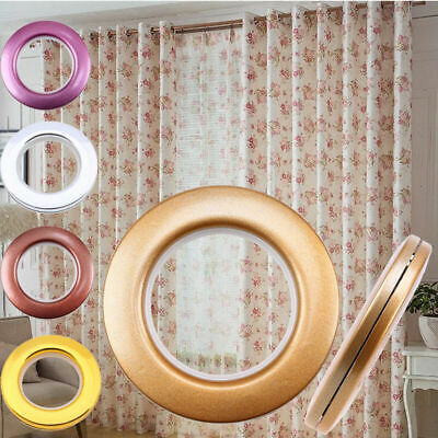 1/8/10/40x Round Eyelet Ring Sewing Tape For Eyelets Window Door Curtain New