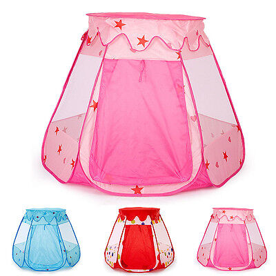 Toddler Hexagon Play Tent Baby Safety Play House Princess Prince Game Tent New