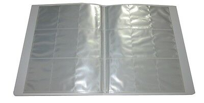 Empty Spare Trading Card Binder Folder 12 Pages / Sheets -9 Pockets Per Page TCG