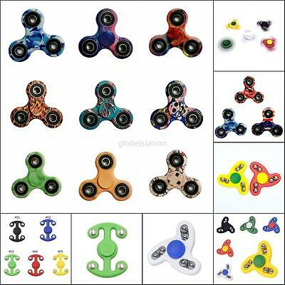 Anti Stress Hand Spinner Camo Ceramic Finger Toy Pocket Focus ADHD Autism Toy