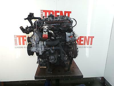 2007 FORD TRANSIT H9FB 2402cc Diesel Manual Engine with Pump Injectors & Turbo