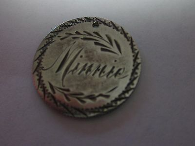 United States Seated Dime 1877 Love Token Coin Minnie