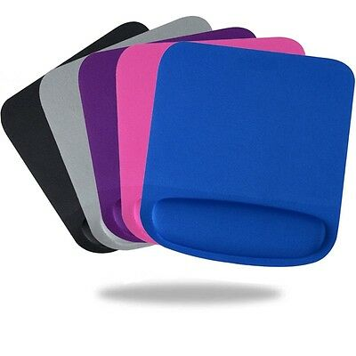 ANTI-SLIP Mouse Mat Wrist Gel Rest Support Pad For PC Laptop Computing