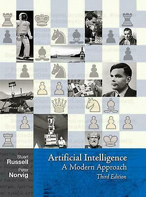 Artificial Intelligence: A Modern Approach by Peter Norvig (English) Hardcover B