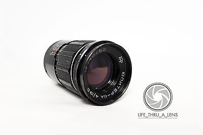 JUPITER 11A 135mm F5 Telephoto Portrait Lens for M42 fit DEFECTS
