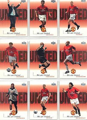 MANCHESTER UNITED      WE ARE UNITED  :by UPPER DECK                     CHOOSE