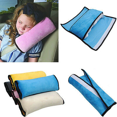 Nice Child Safety Car Seat Belt Pad Strap Harness Shoulder Sleep Pillow Cushion
