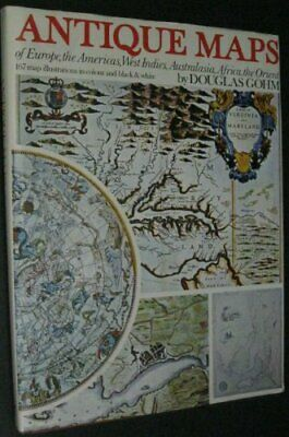 Antique Maps by Gohm, Douglas Charles Hardback Book The Cheap Fast Free Post