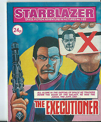 The Executioner,starblazer Space Fiction Adventure In Pictures,no.165,1986