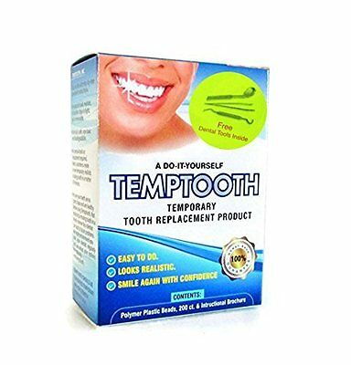 Non Toxic Temptooth - Do It Yourself Temporary Tooth Replacement w/ Dental Tools