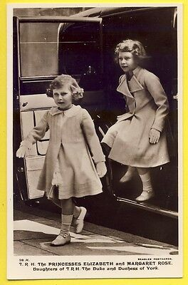 cpa PRINCESSES Elizabeth and Margaret Rose Daughters DUKE and DUCHESS of YORK