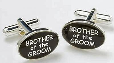 Brother of the Groom Gift Cufflinks Wedding Gift NEW in BOX 3153