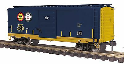 MTH 70-74097, 1 Gauge / G Scale,  40' Box Car - CSX (Safety Train)