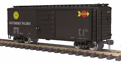 MTH 70-74101, 1 Gauge / G Scale,  40' Box Car - Southern Pacific (Overnight)