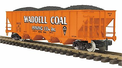 MTH 70-75059, 1 Gauge / G Scale,  4-Bay Hopper Car - Waddell Coal #108