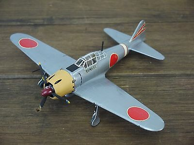 Vintage WW2 JAPANESE ZERO FIGHTER 1/48 Scale Built Model Aircraft