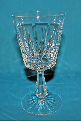 Waterford Crystal Rosslare Claret Wine Glass, 6'H -Mint NO BOX