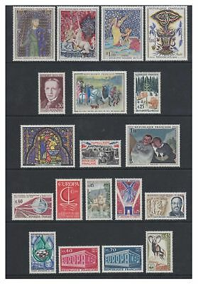 France - Small collection of 53 stamps - All MNH