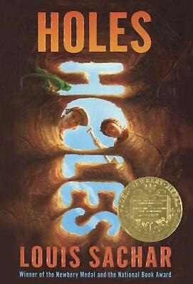 Holes by Louis Sachar (English) Prebound Book Free Shipping!